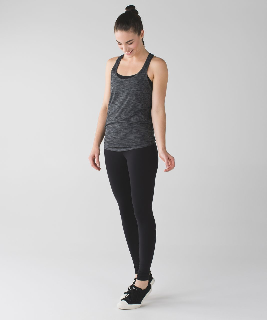 Lululemon Salute the Sun Tank - Heathered Black (First Release)