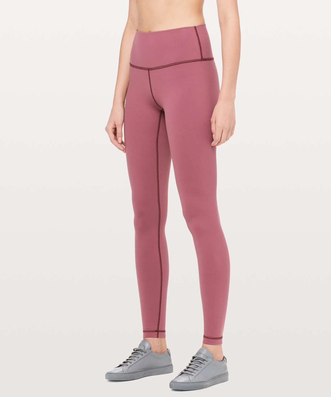 "Lululemon Wunder Under Hi-Rise Tight *Tall 31"" - Misty Merlot"