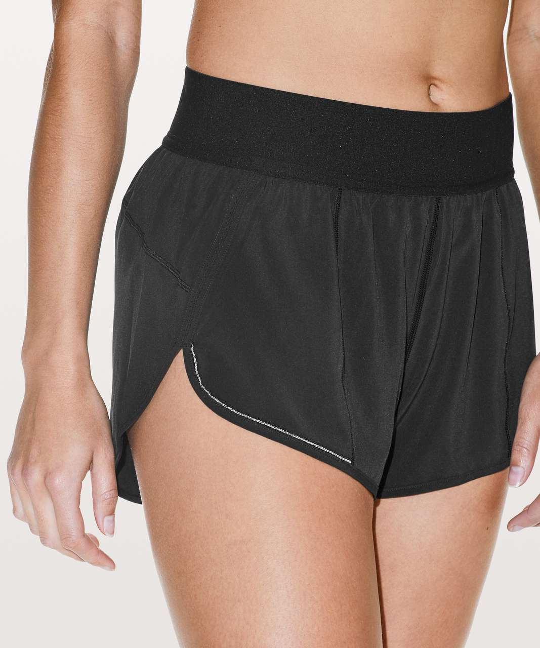 Lululemon Run Smoothly Short - Black