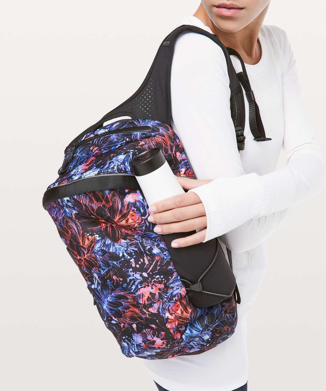 Lululemon Run All Day Backpack II *13L - Neon Blossom Multi