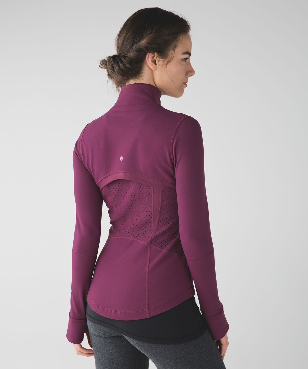 Lululemon Define Jacket (Exhale) - Red Grape