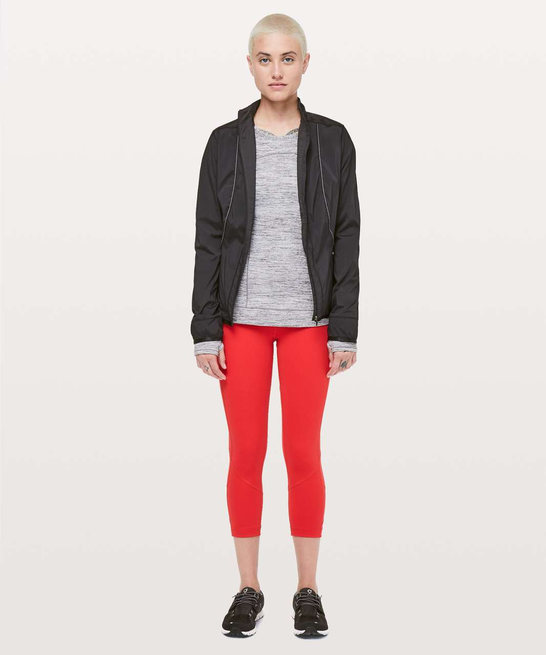 """Lululemon Pace Rival Crop *Full-On Luxtreme 22"""" - True Red"""