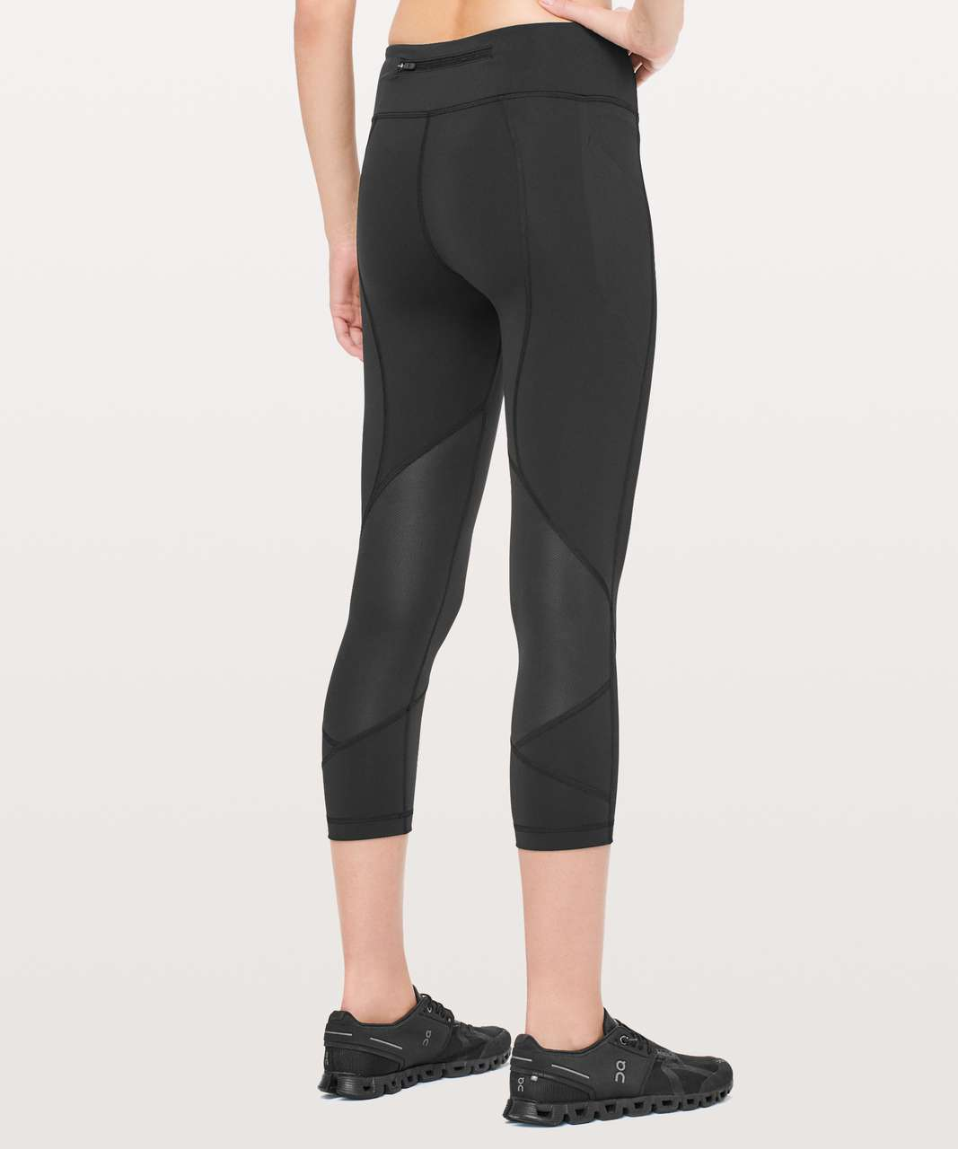 "Lululemon Pace Rival Crop *Full-On Luxtreme 22"" - Black"