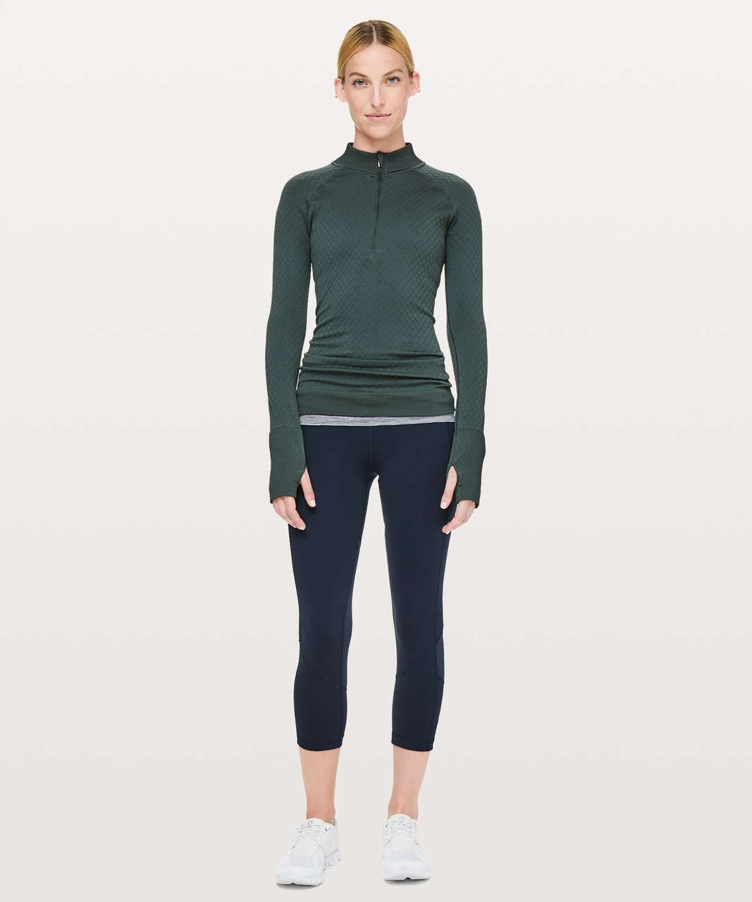 """Lululemon Pace Rival Crop *Full-On Luxtreme 22"""" - True Navy"""
