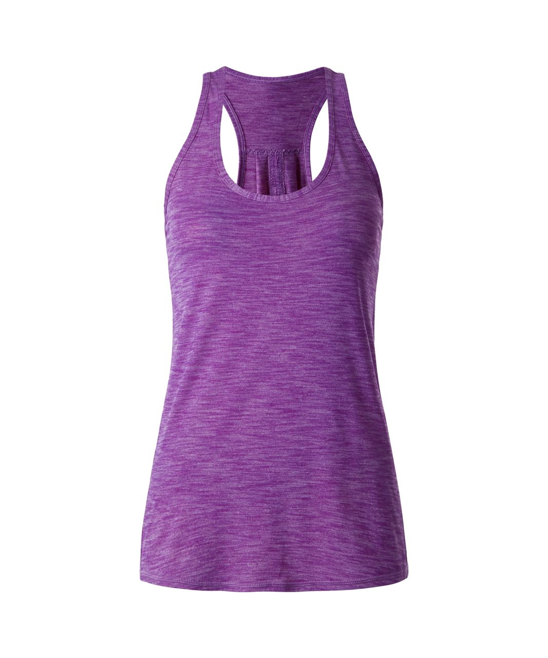 Lululemon Salute the Sun Tank - Heathered Tender Violet