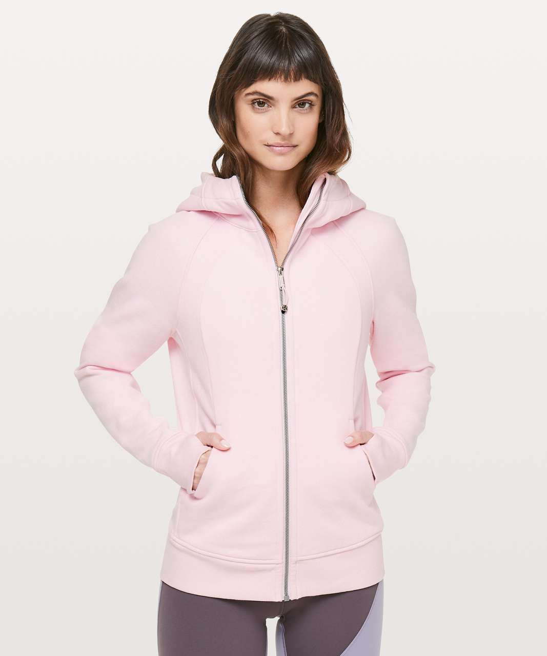 Lululemon Scuba Hoodie *Light Cotton Fleece - Blissful Pink
