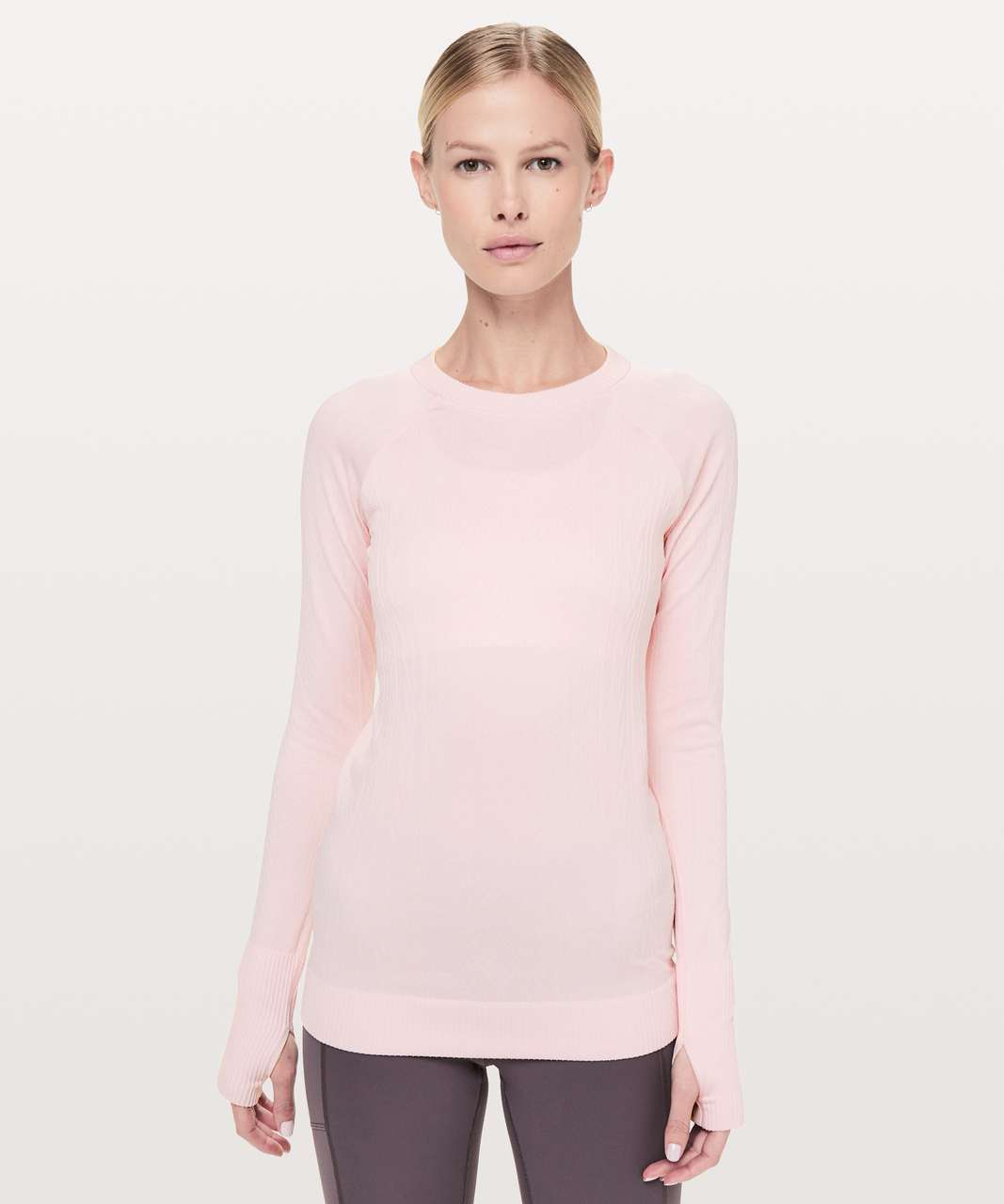 ad55a8fe351f2 Lululemon Rest Less Pullover - Blissful Pink   Blissful Pink - lulu fanatics