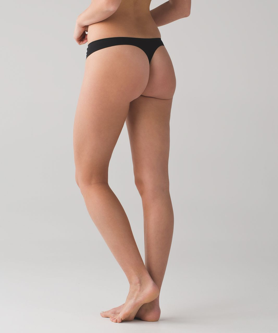 Lululemon Namastay Put Thong - Black