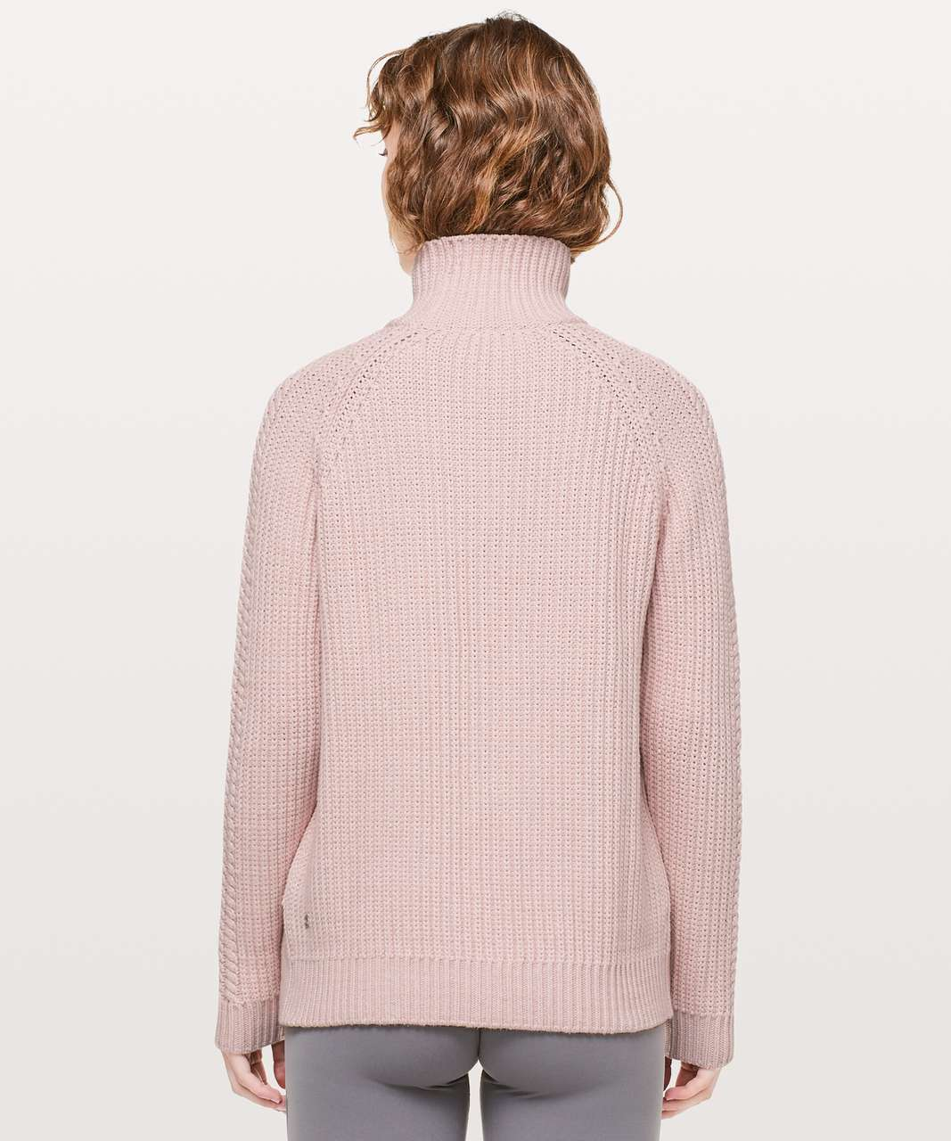 Lululemon Bring The Cozy Turtleneck - Misty Pink
