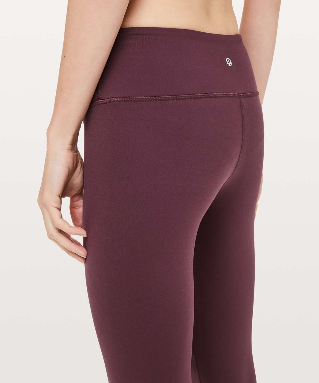 "Lululemon Wunder Under Crop III *Full-On Luon 21"" - Dark Adobe"
