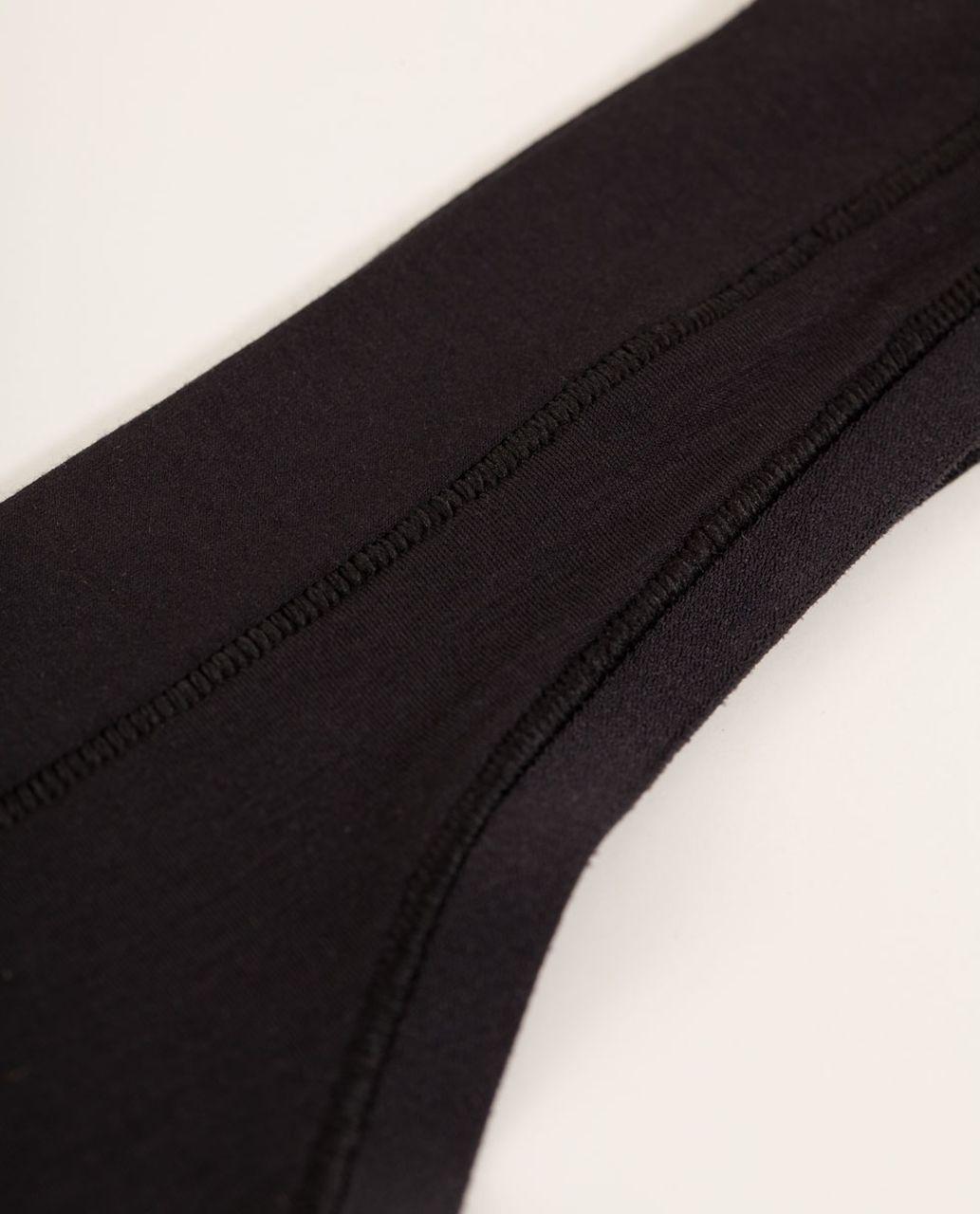 Lululemon Mula Bandhawear Thong - Black (First Release)