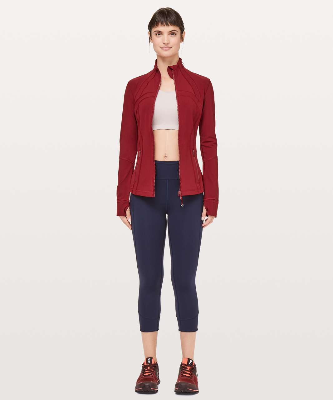 Lululemon Define Jacket *Full-On Luxtreme - Dark Sport Red