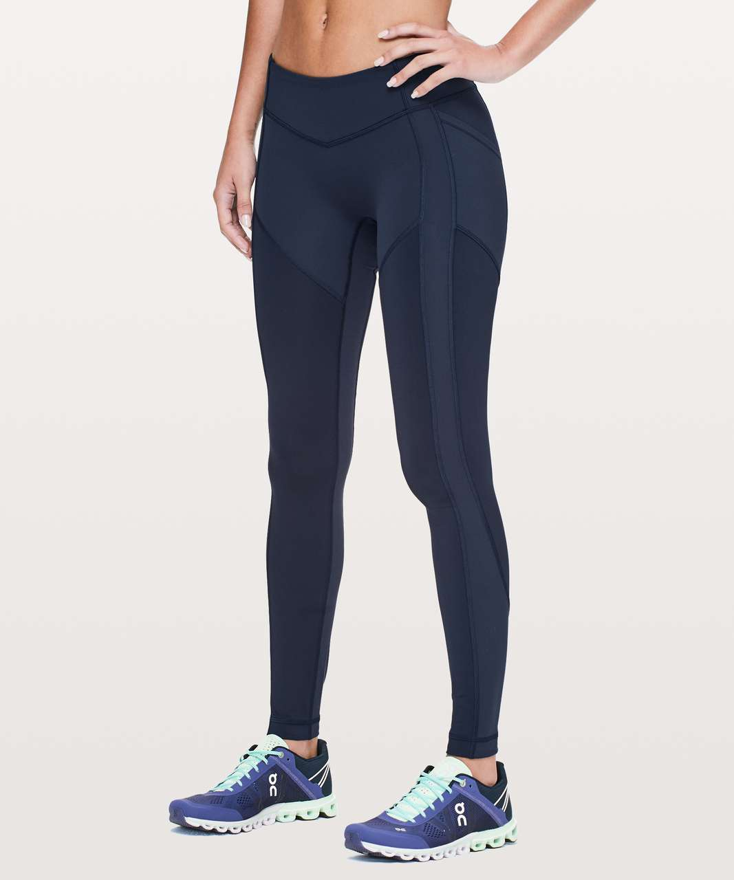 """Lululemon All The Right Places Pant II Low Rise  *28"""" - True Navy"""