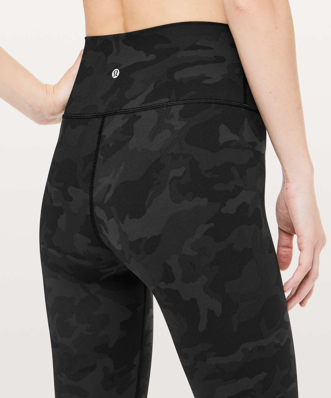 "Lululemon Wunder Under Hi-Rise Tight *Full-On Luxtreme 28"" - Incognito Camo Multi Grey"