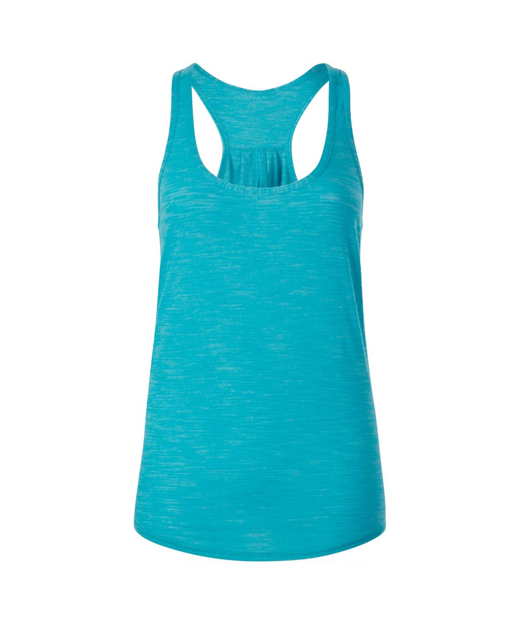 Lululemon Salute the Sun Tank - Heathered Peacock Blue