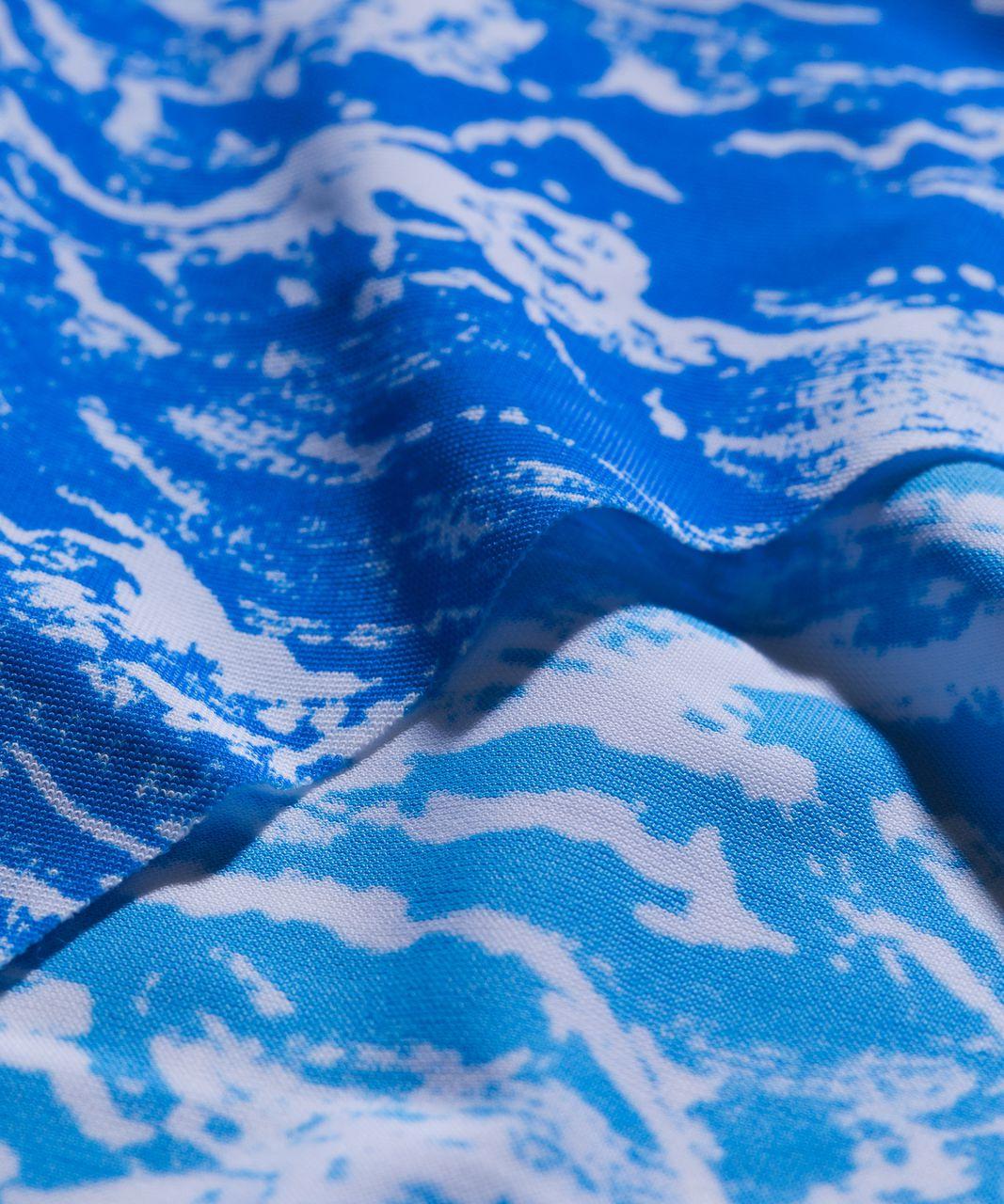 Lululemon Namastay Put Hipster - Nami Wave White Pipe Dream Blue