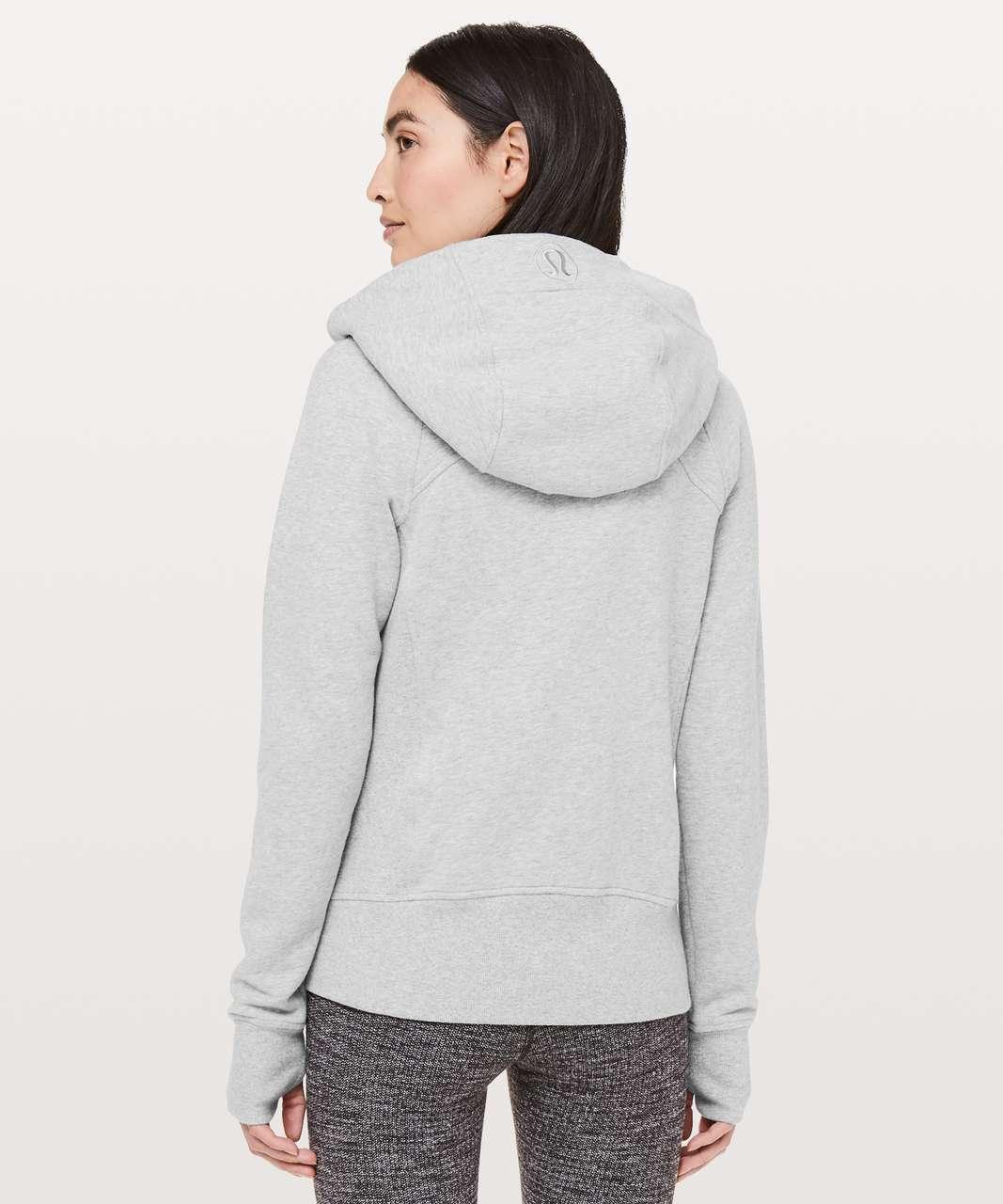 Lululemon Scuba Hoodie *Light Cotton Fleece - Heathered Core Light Grey / Silver Drop
