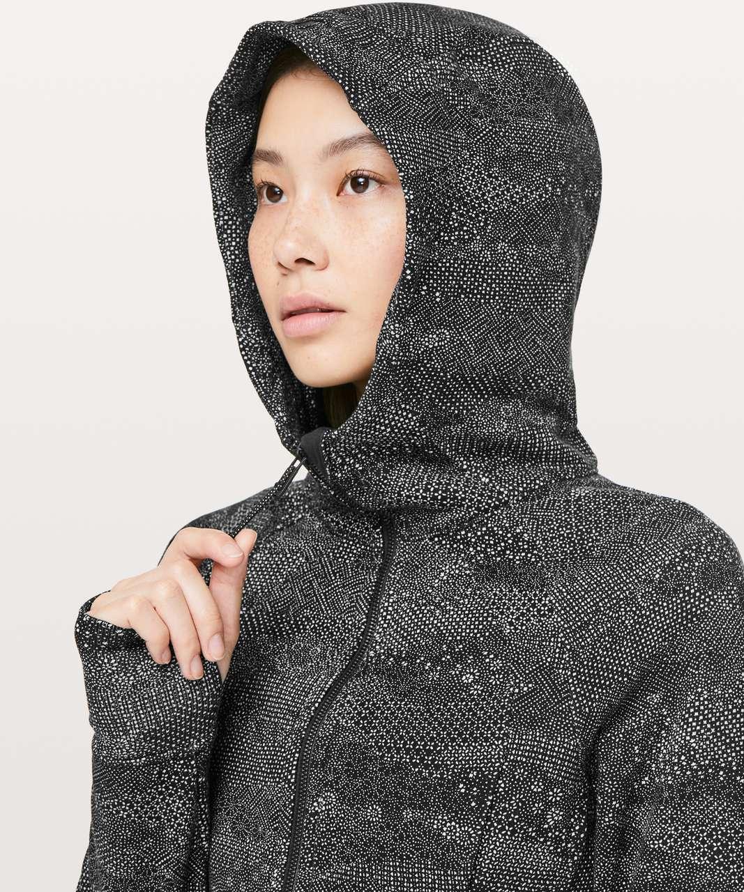 Lululemon Scuba Hoodie *Light Cotton Fleece - Meisai White Black
