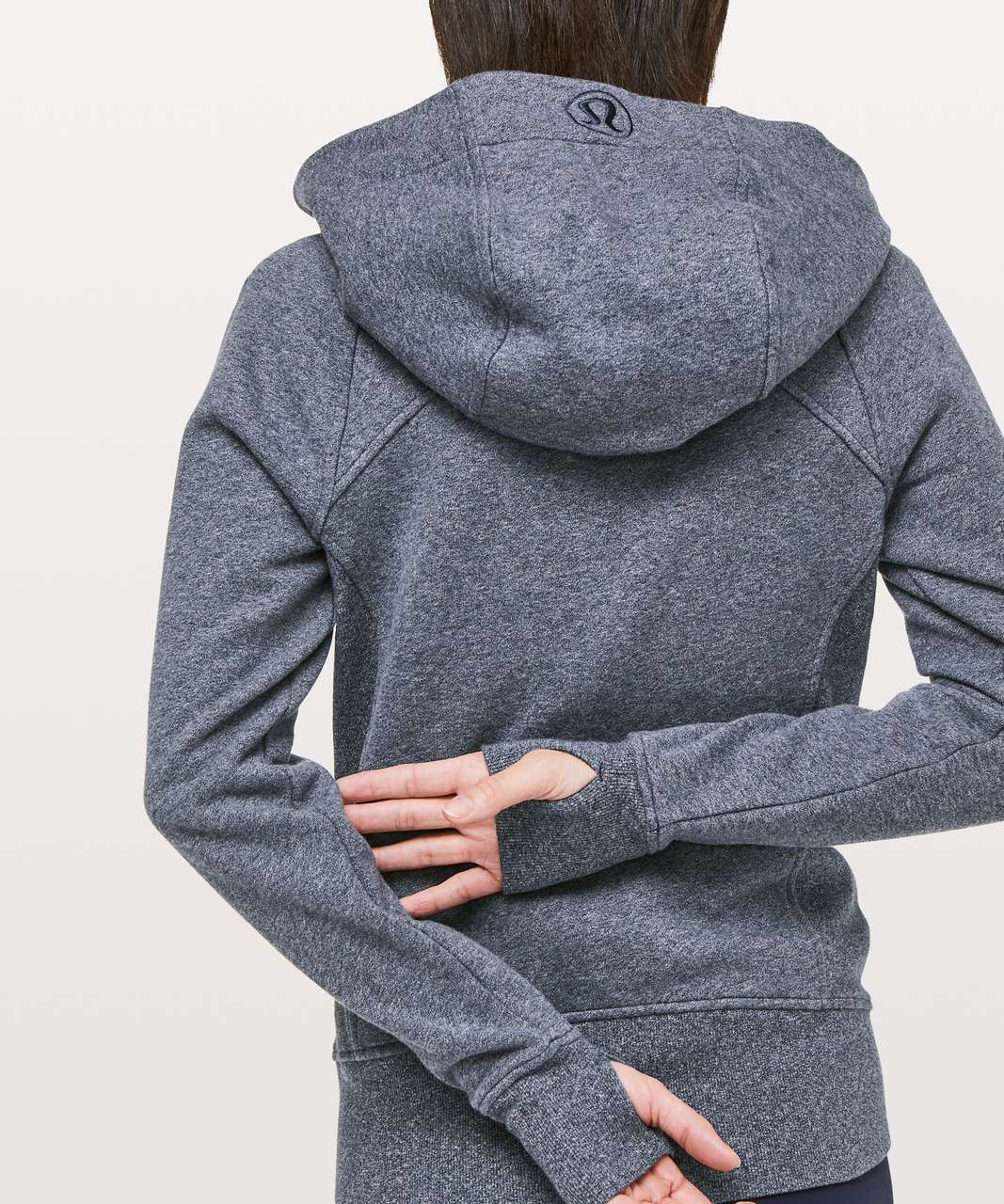 Lululemon Scuba Hoodie *Light Cotton Fleece - Heathered Speckled True Navy