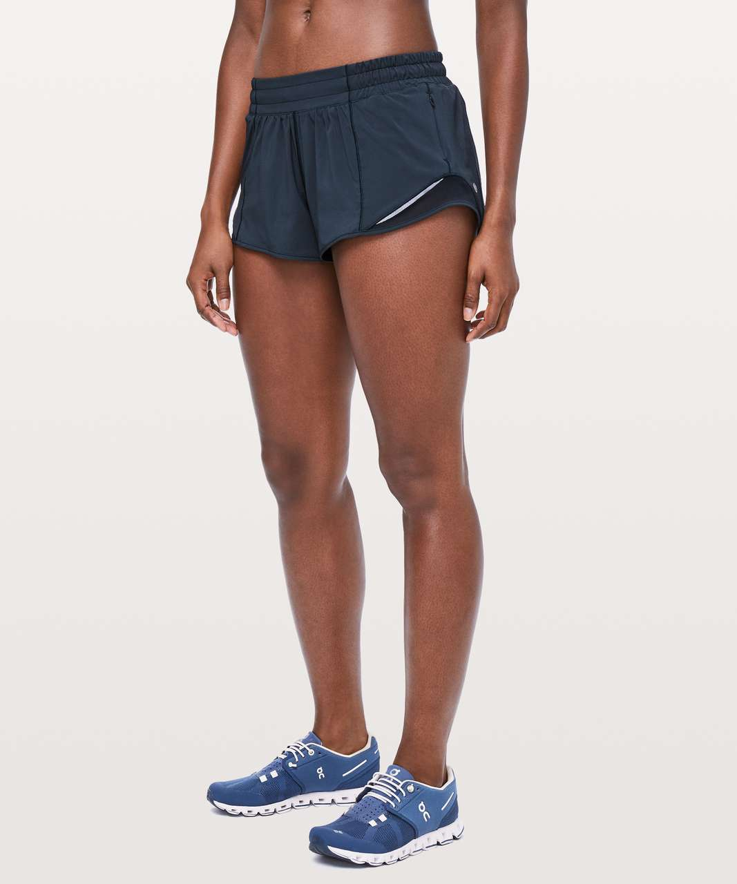 "Lululemon Hotty Hot Short II *2.5"" - True Navy (First Release)"