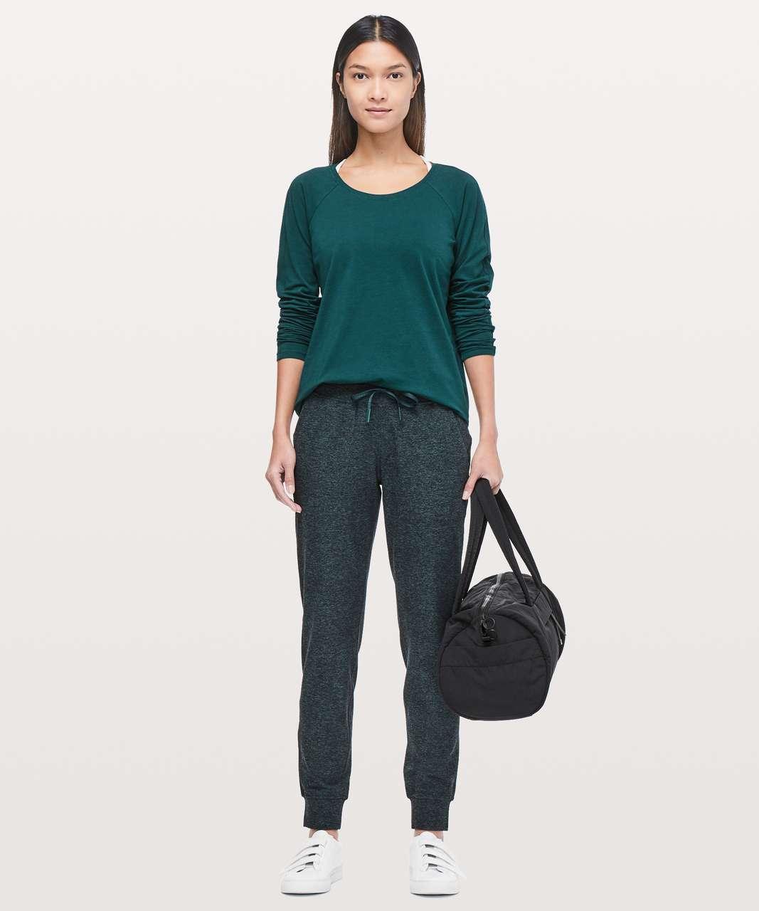 Lululemon Emerald Long Sleeve - Royal Emerald