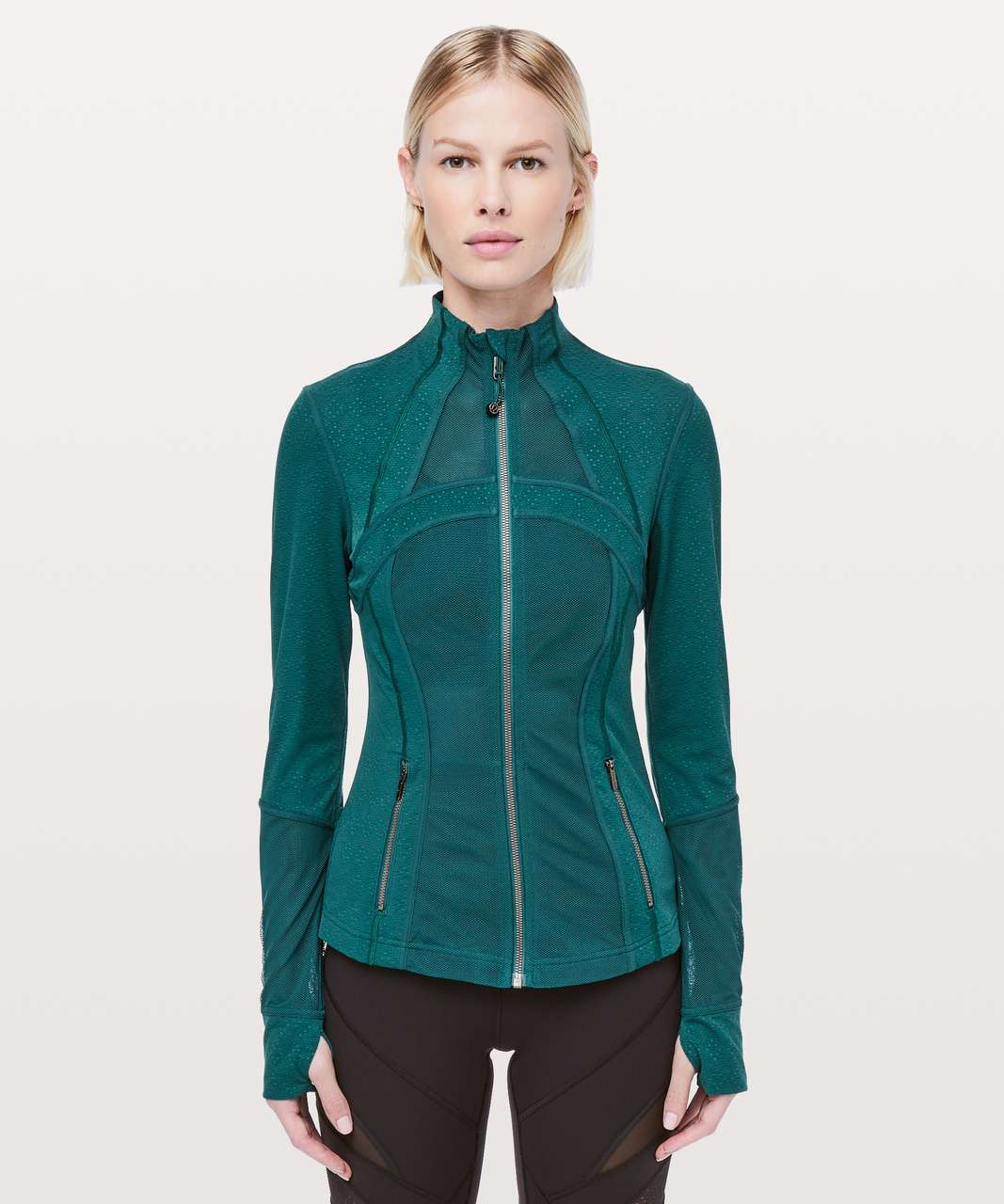 Lululemon Define Jacket *Full Mesh - Emerald