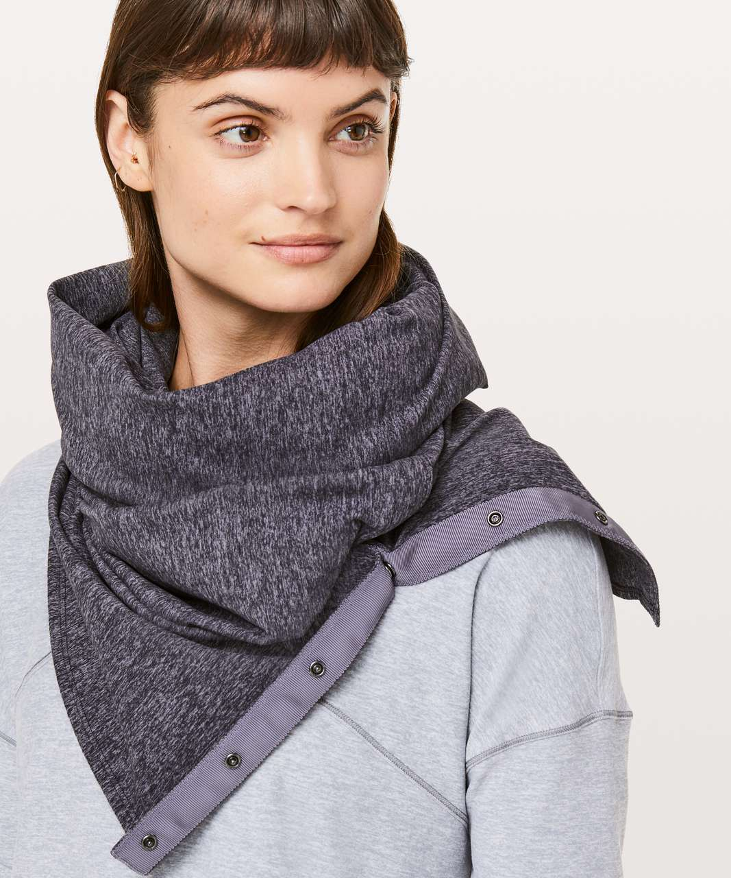 Lululemon Vinyasa Scarf *Rulu - Heathered Purple Quartz