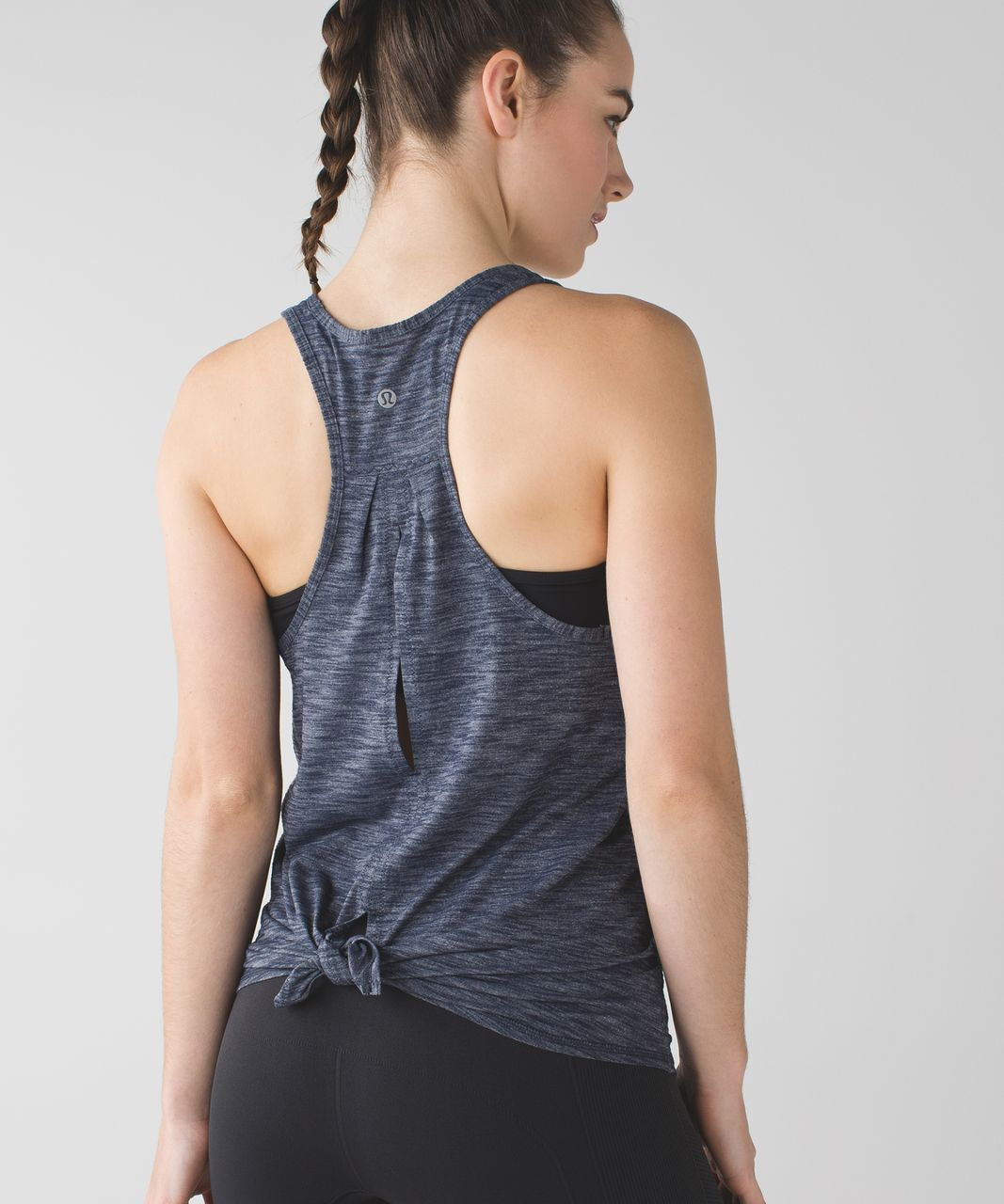 Lululemon Salute the Sun Tank - Heathered Inkwell