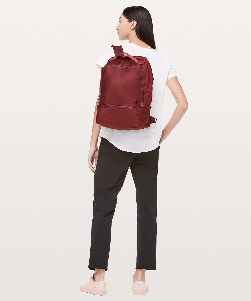Lululemon City Adventurer Backpack II *17L - Red Oxide