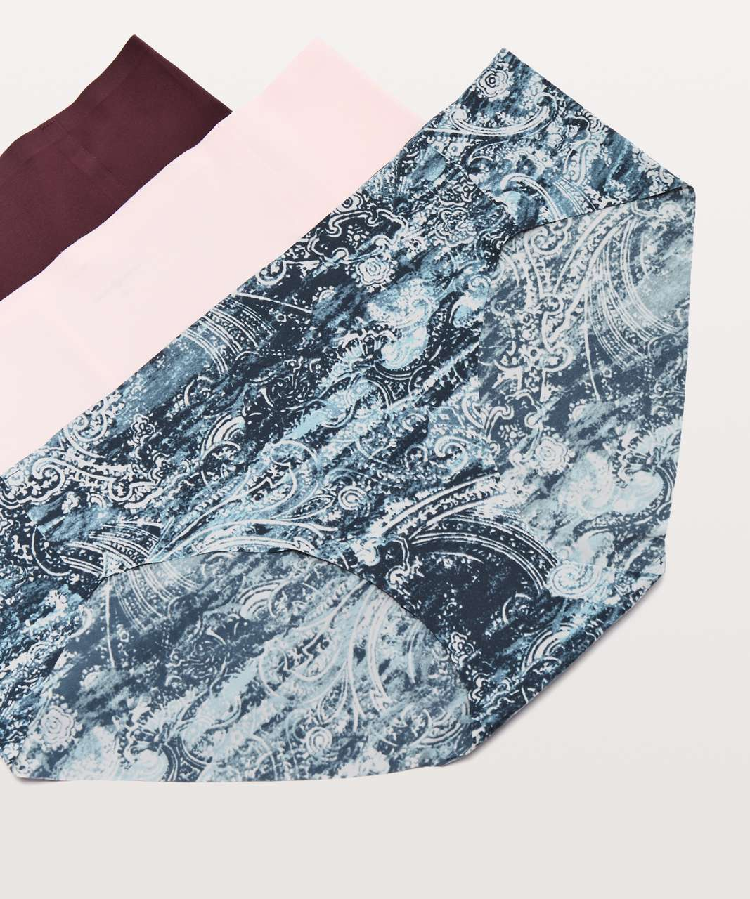 Lululemon Namastay Put Hipster 3 Pack - Dark Adobe / Paisley Glaze Multi / Blissful Pink