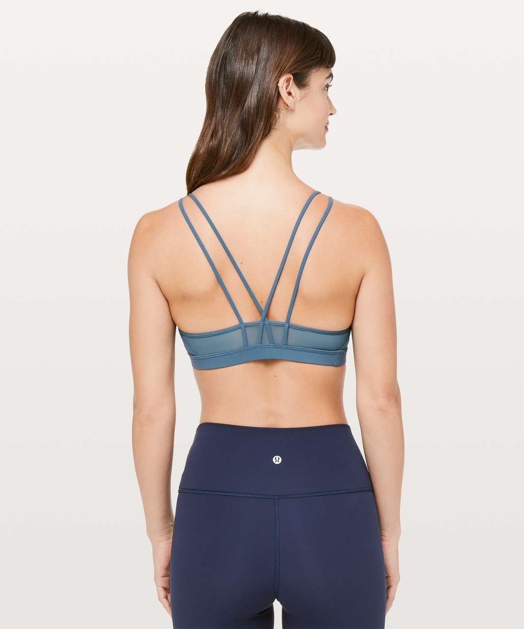 739f2ea709 Lululemon Freely Flexed Bra - Petrol Blue - lulu fanatics