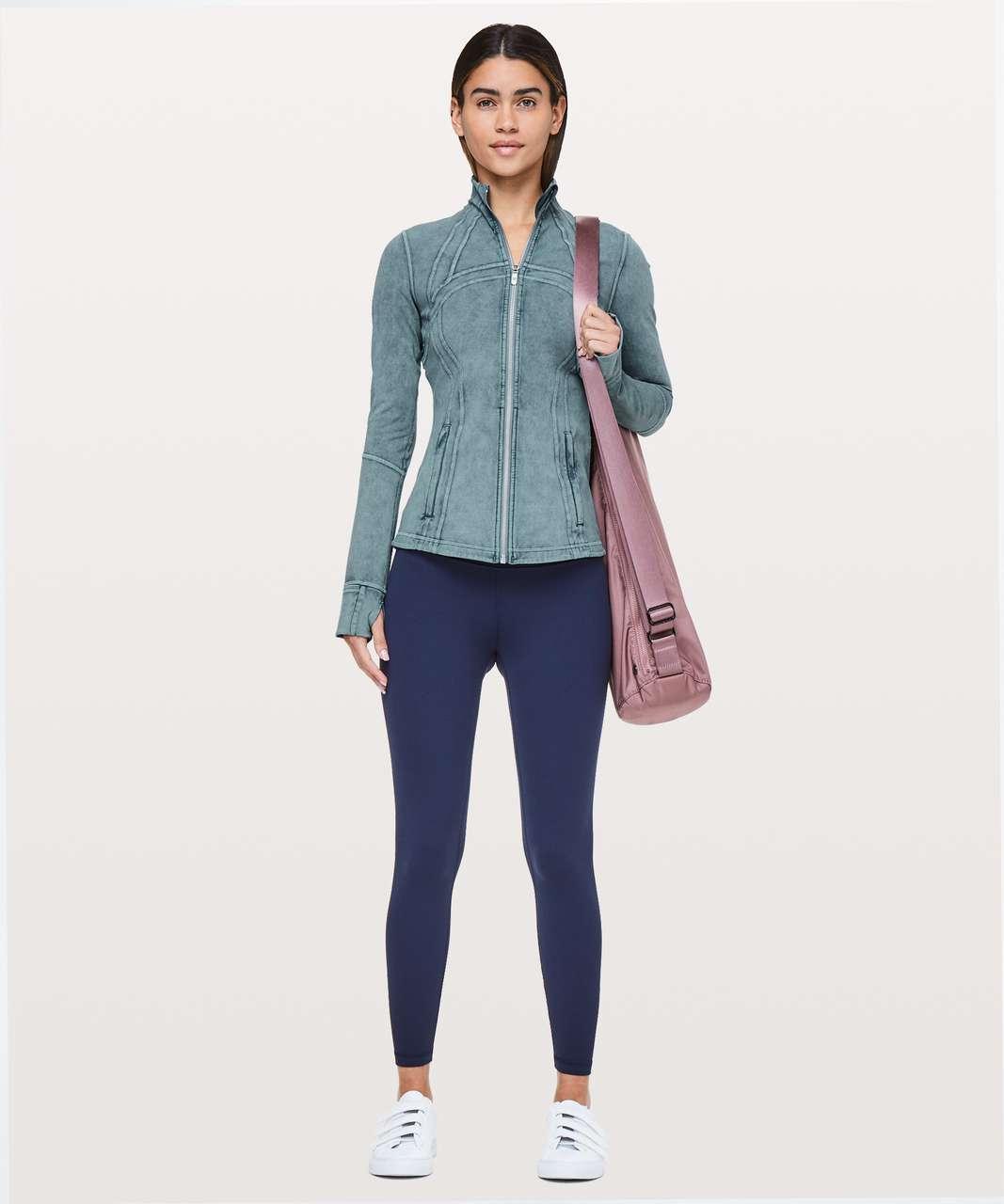 eccf511b08a Lululemon Define Jacket  Luxtreme - Washed Petrol Blue - lulu fanatics