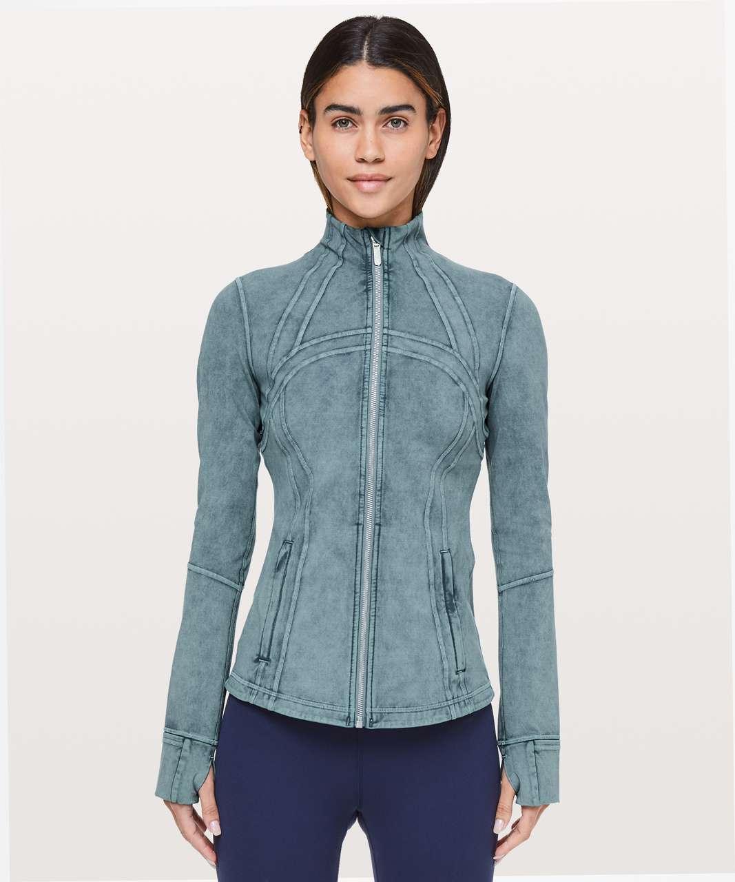 Lululemon Define Jacket *Luxtreme - Washed Petrol Blue