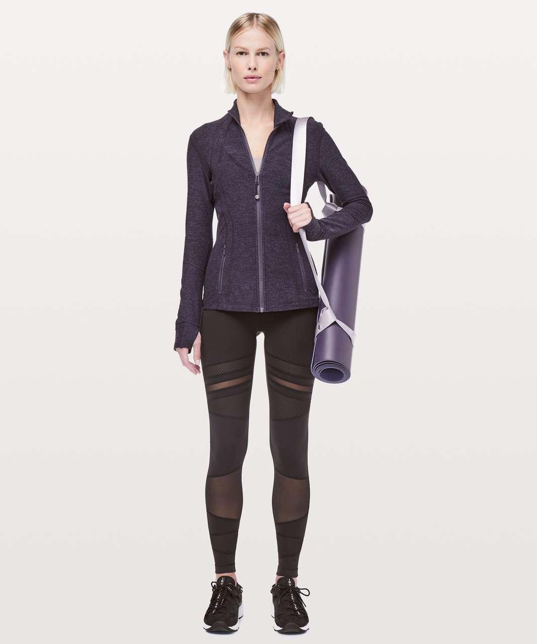 Lululemon Define Jacket *Rulu - Heathered Cyber / Black