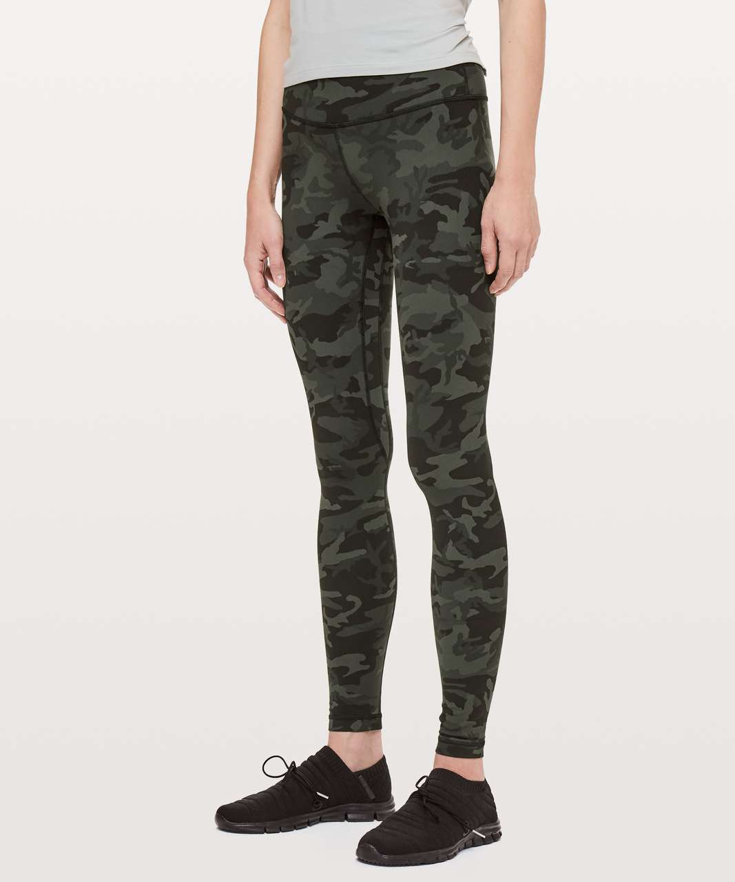 "Lululemon Align Pant *Full Length 28"" - Incognito Camo Multi Gator Green (First Release)"