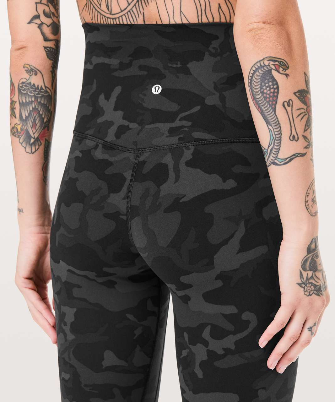 "Lululemon Align Pant Super High-Rise *28"" - Incognito Camo Multi Grey"