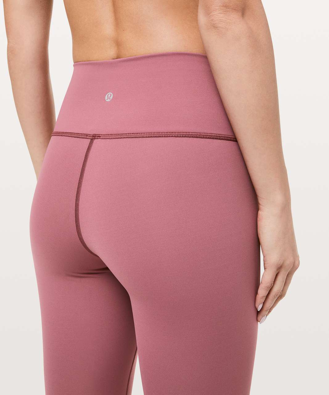 "Lululemon Wunder Under High-Rise Tight *Brushed Full-On Luxtreme 28"" - Misty Merlot"