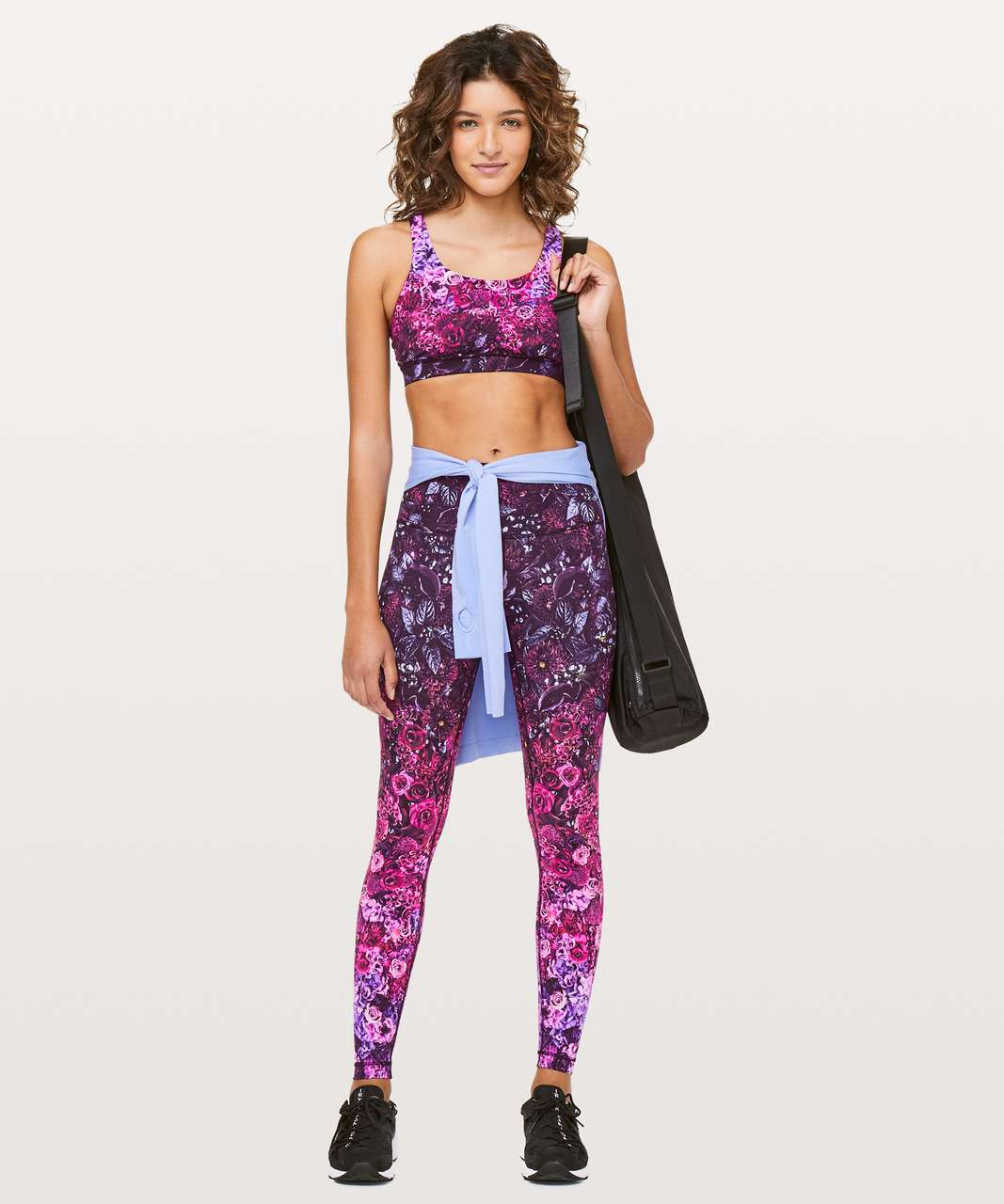 Lululemon Energy Bra *Nulux - In Bloom Energy Bra Multi