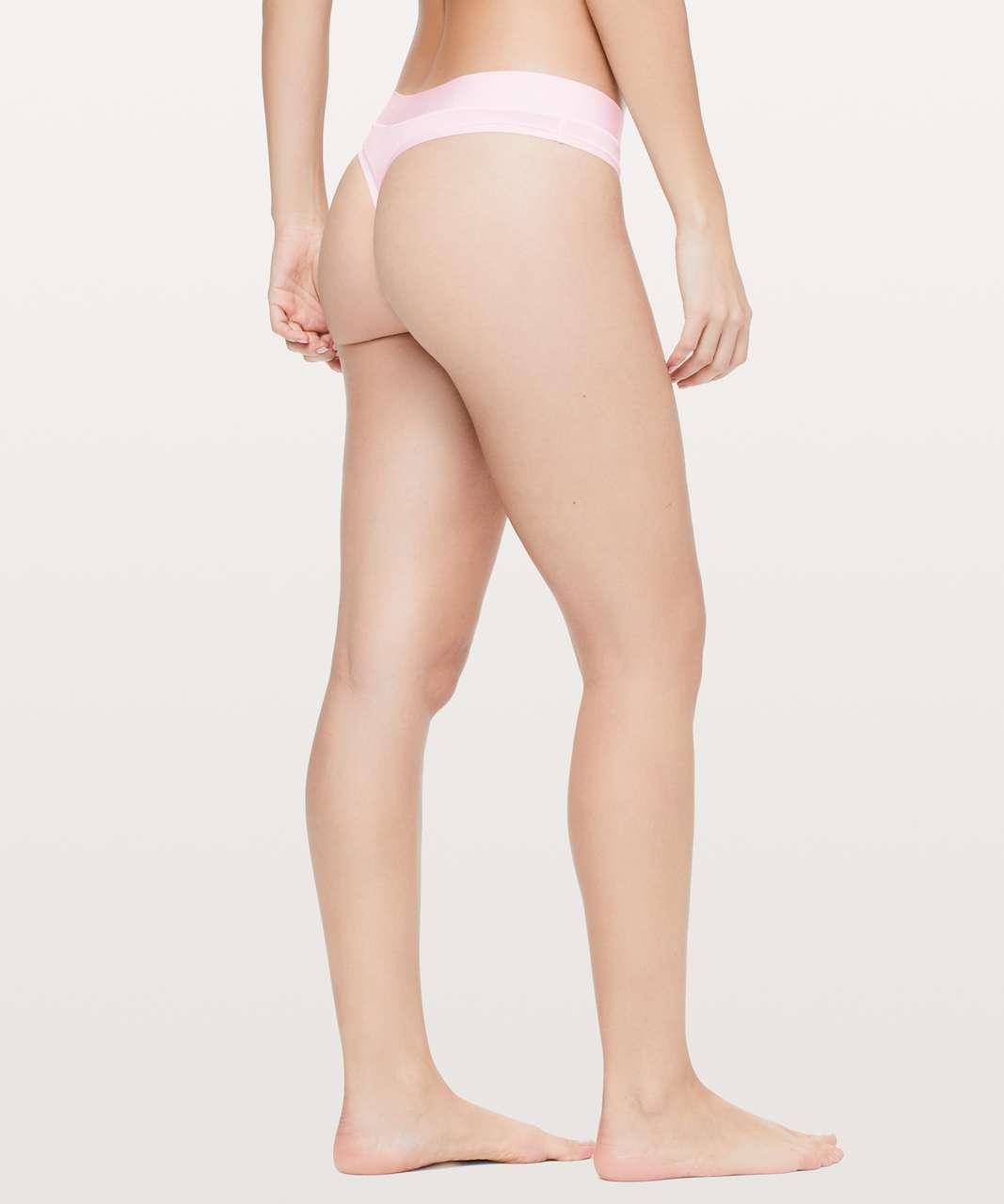 Lululemon Mula Bandhawear Thong - Blissful Pink
