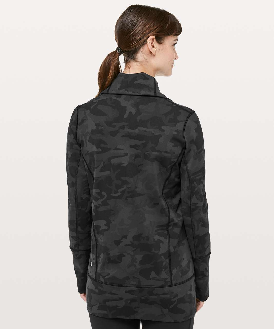 Lululemon In Stride Jacket - Incognito Camo Multi Grey
