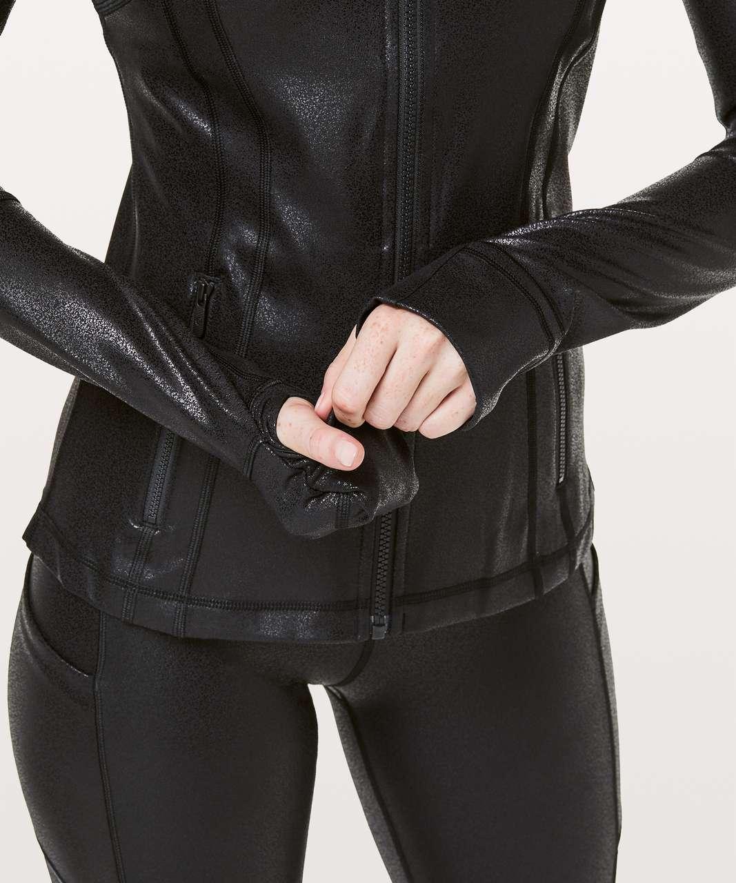 Lululemon Define Jacket *Foil - Luminosity Foil Print Black Black