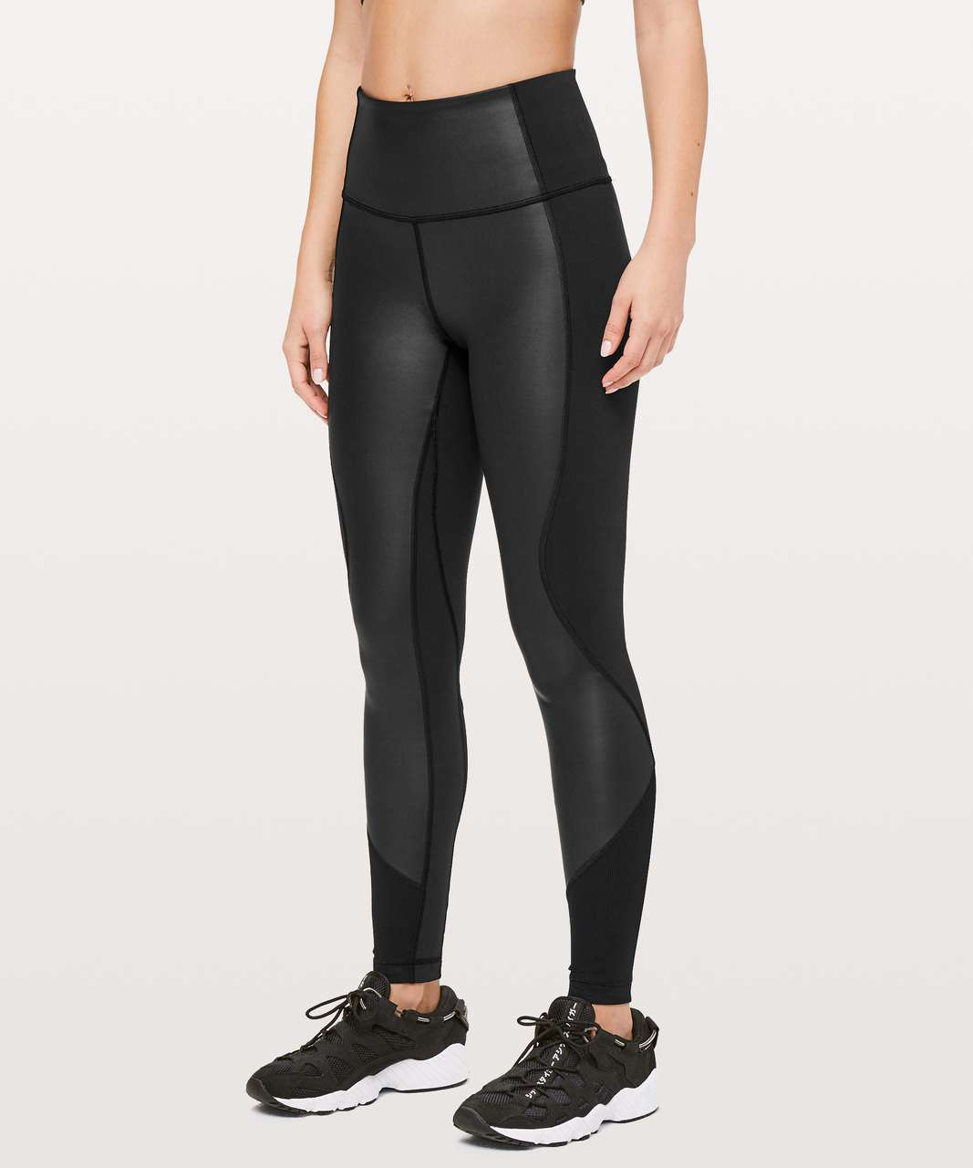 "Lululemon Wunder Under High-Rise Tight *Shine 28"" - Black"