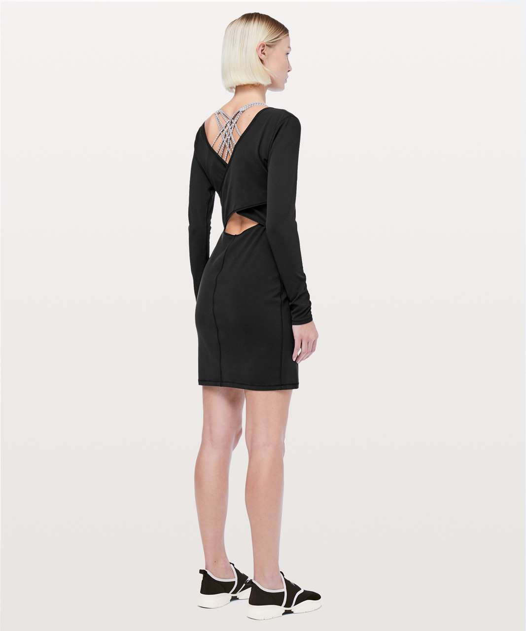 0d15641a70 Lululemon Contour Dress *Nulu - Black - lulu fanatics