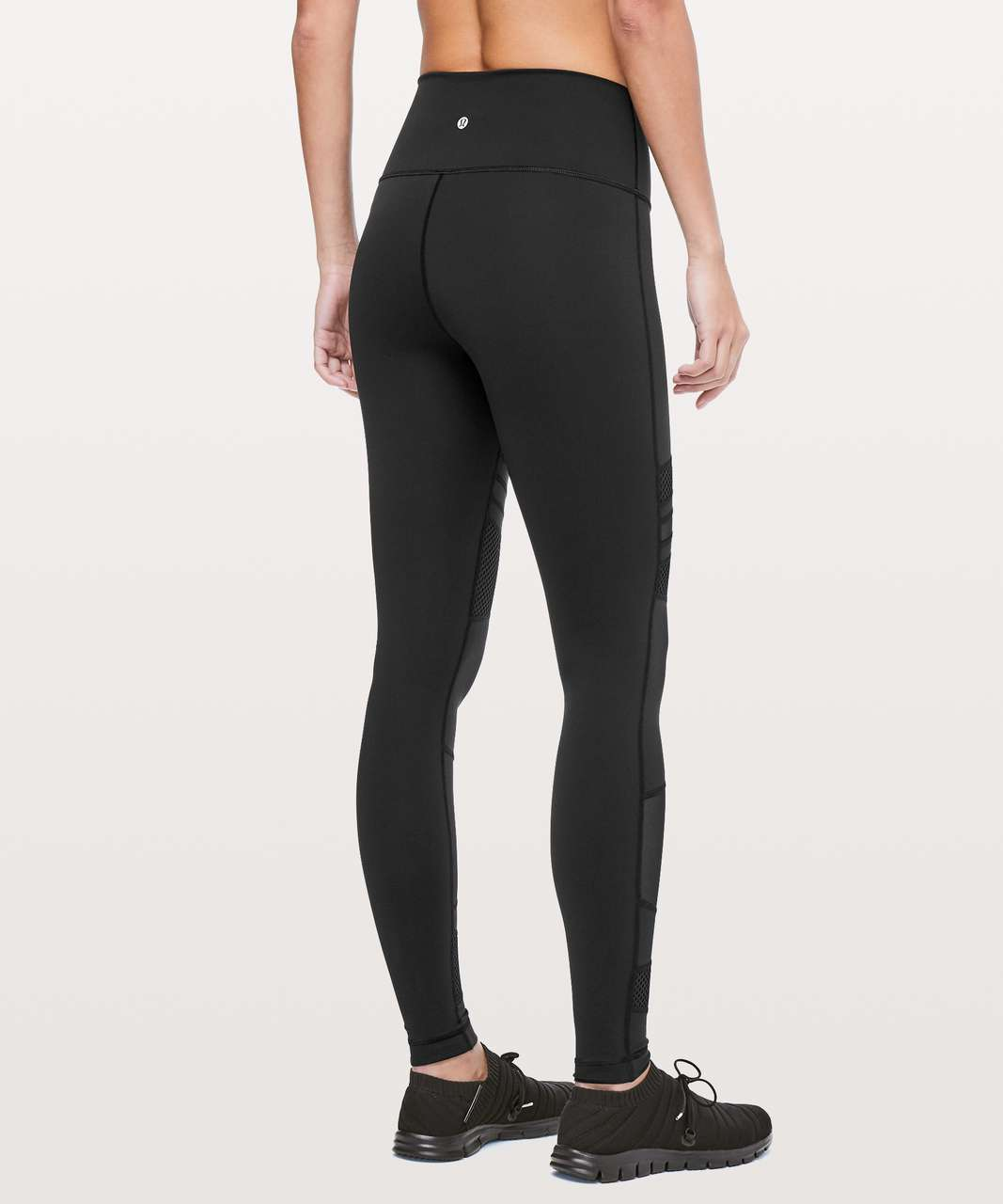 "Lululemon Wunder Under High-Rise Tight *Mix & Mesh 28"" - Black"