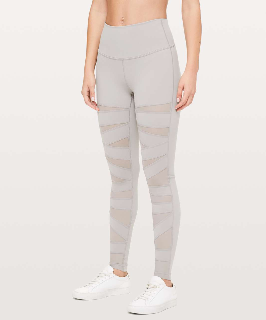 "Lululemon Wunder Under Pant (High-Rise) *Tech Mesh 28"" - Dark Chrome"