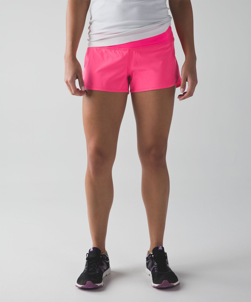 Lululemon Speed Short Neon Pink Lulu Fanatics