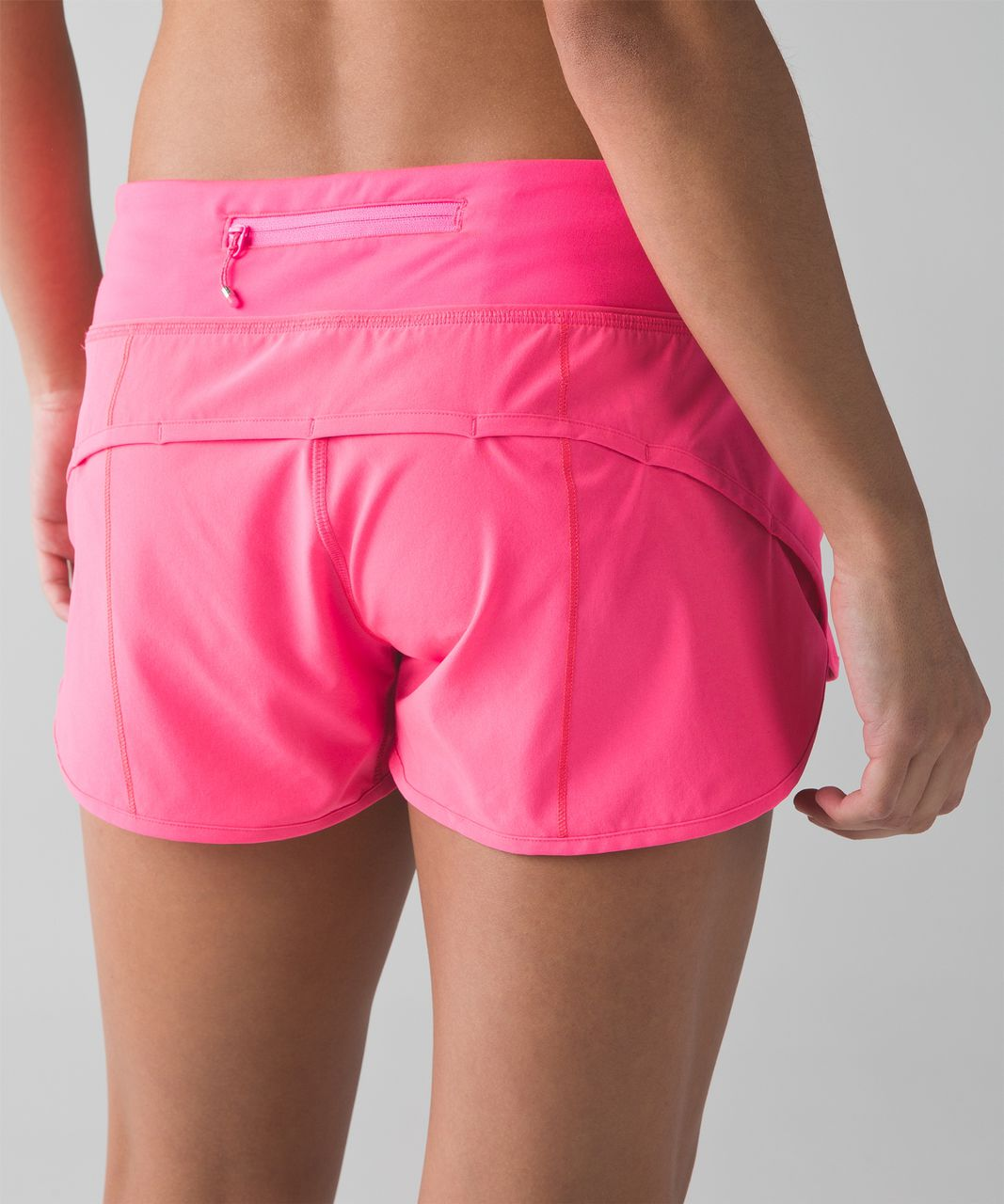 Lululemon Speed Short - Neon Pink