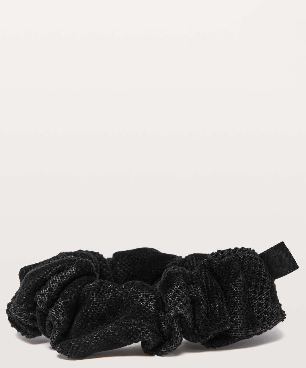 Lululemon Uplifting Scrunchie *Flocked - Black