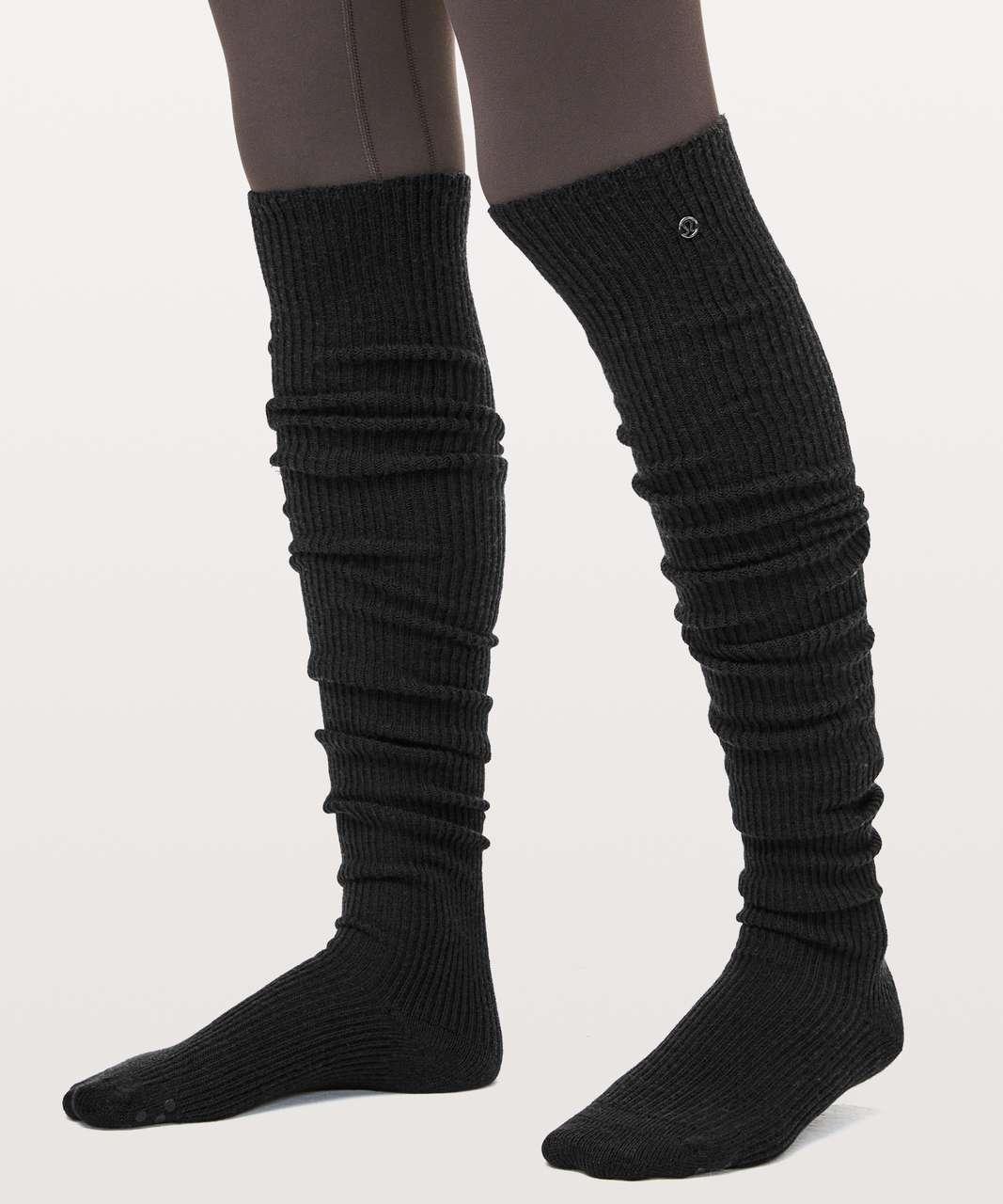 9e1a1f8ab9d Lululemon Savasana Sock - Black - lulu fanatics