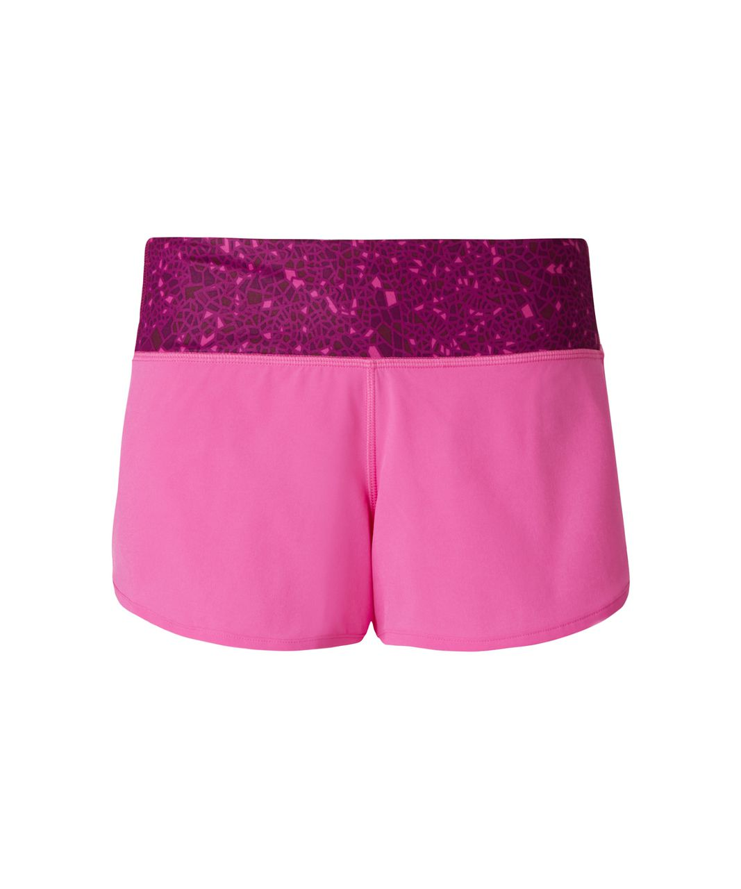 Lululemon Speed Short - Pink Paradise / Paradise Geo Regal Plum Multi